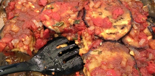 Eggplant And Mushroom Polenta Bake Recipes — Dishmaps